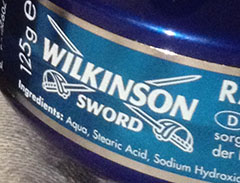 Wilkinson Sword Shaving soap