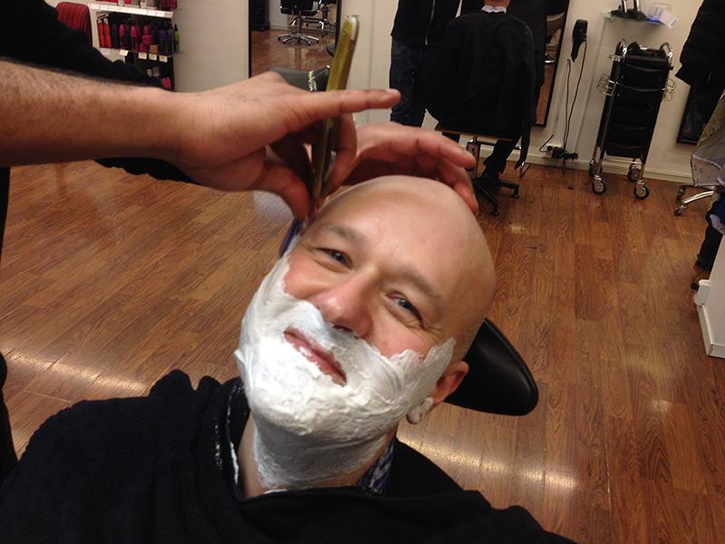 Klar til barbering